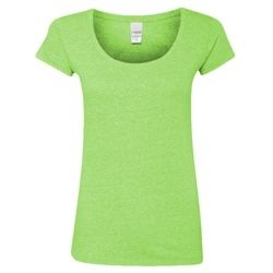 Women's Twisted Slub Scoopneck T-Shirt Thumbnail