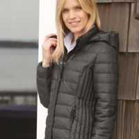 32 Degrees Women's Hooded Packable Down Jacket Thumbnail