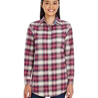Ladies' Yarn-Dyed Flannel Shirt Thumbnail