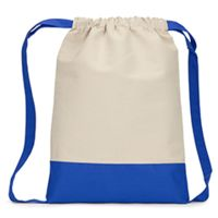 Cape Cod Cotton Drawstring Backpack Thumbnail
