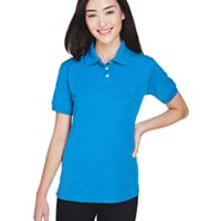 Ladies' Platinum Performance Piqué Polo with TempControl Technology Thumbnail