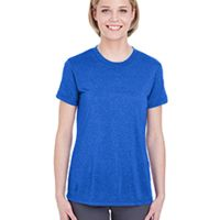 Ladies'  Cool & Dry Heathered Performance T-Shirt Thumbnail