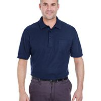 Adult Whisper Piqué Polo with Pocket Thumbnail