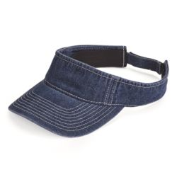 Washed Denim Visor Thumbnail