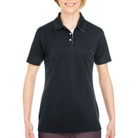 Ladies' Platinum Performance Birdseye Polo with TempControl Technology Thumbnail