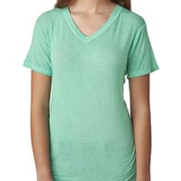 Ladies' Oasis Wash V-Neck T-Shirt Thumbnail