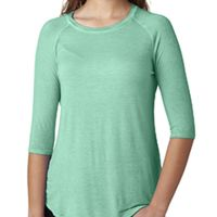 Ladies' Oasis Wash 3/4-Sleeve T-Shirt Thumbnail