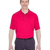 Adult Cool & Dry Sport Shoulder Block Polo Thumbnail
