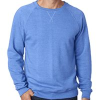 Men's Triblend Fleece Crew Thumbnail