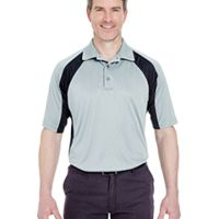 Adult Cool & Dry Sport Performance Colorblock Interlock Polo Thumbnail