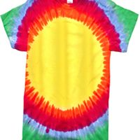 Youth Rainbow Pattern Tie-Dyed Tee Thumbnail