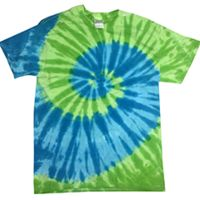 Youth 5.4 oz., 100% Cotton Islands Tie-Dyed T-Shirt Thumbnail