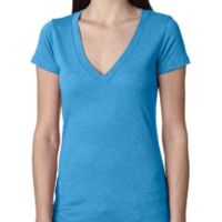 Ladies' Triblend Deep V Thumbnail