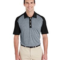 Men's Heather Block Polo Thumbnail