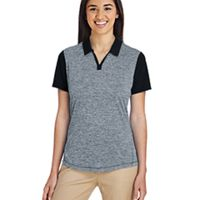 Ladies' Heather Block Polo Thumbnail