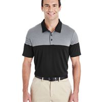Men's 3-Stripes Heather Block Polo Thumbnail
