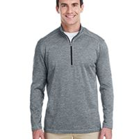 Men's 3-Stripes Heather Quarter-Zip Thumbnail