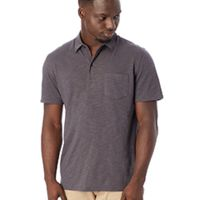 Fairway Washed Slub Polo Shirt Thumbnail