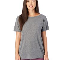 Ladies' Cross-Back Slinky-Jersey T-Shirt Thumbnail