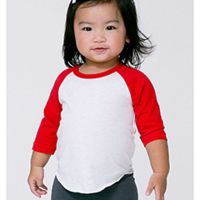 Infant Poly-Cotton 3/4-Sleeve T-Shirt Thumbnail