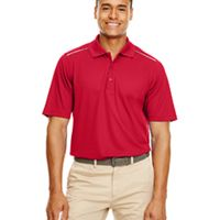 Men's Radiant Performance Piqué Polo with Reflective Piping Thumbnail