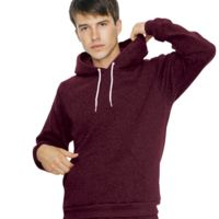 Unisex Mock Twist Pullover Hooded Sweatshirt Thumbnail