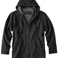 Men's 100% Cotton 12 oz. Canvas/Polyester Thermal Lining Hooded Tall Laredo Jacket Thumbnail