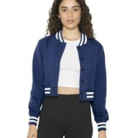 Women's Heavy Terry Cropped Club Jacket Thumbnail