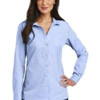 Ladies Nailhead Non Iron Shirt Thumbnail