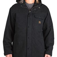 Men's Workwear Hooded Parka with Kevlar Thumbnail