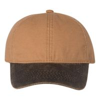 Canvas Cap with Weathered Cotton Visor Thumbnail