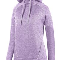 Ladies' Zoe Tonal Heather Hoodie Thumbnail