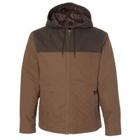 Men's 12 oz. 100% Cotton Canvas Hooded Terrain Jacket Thumbnail