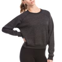 Ladies' Sponge Fleece Crop Top Thumbnail