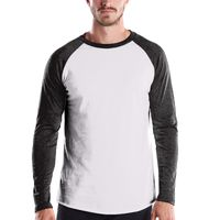 Men's 4.3 oz. Long-Sleeve Triblend Baseball Raglan Thumbnail