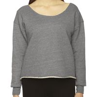 Ladies' Athletic Crop Sweatshirt Thumbnail