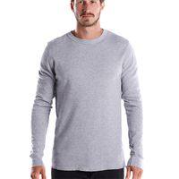 Men's 5.8 oz. Long-Sleeve Thermal Crewneck Thumbnail