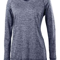 Ladies' Dry-Excel™ Electrify 2.0 Performance V-Neck Long-Sleeve Training Top Thumbnail