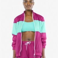 Unisex Crinkle Nylon Team Jacket Thumbnail