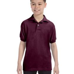 Youth 5.2 oz., 50/50 EcoSmart® Jersey Knit Polo Thumbnail