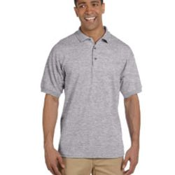 Adult Ultra Cotton® Adult 6.3 oz. Piqué Polo Thumbnail