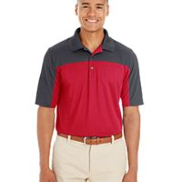 Men's Balance Colorblock Performance Piqué Polo Thumbnail
