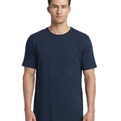 Men's Cotton Long Body Crew Thumbnail