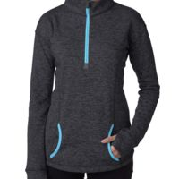 Ladies' Cosmic Fleece Quarter-Zip Thumbnail