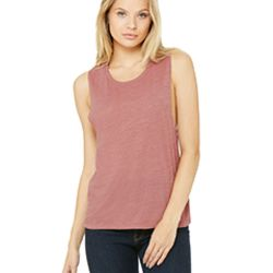 Ladies' Flowy Scoop Muscle Tank Thumbnail