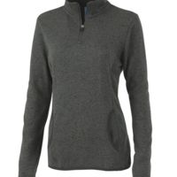WOMEN'S HEATHERED FLEECE PULLOVER Thumbnail