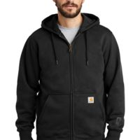 Carhartt ® Rain Defender ® Paxton Heavyweight Hooded Zip-Front Sweatshirt Thumbnail